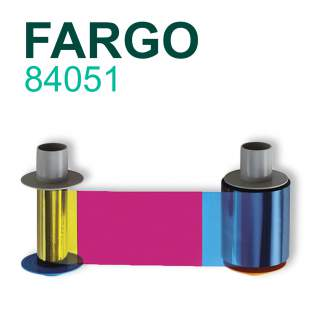 Fargo 84051 YMCK 500 Print Colour Ribbon for HDP5000