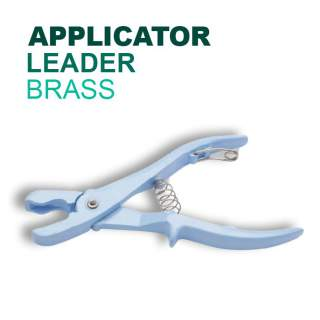 Leader Brass Tag Applicator