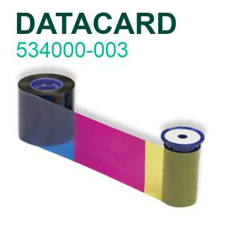Datacard 534000-003 YMCKT 500 Print Colour Ribbon for SP35 SP55 SP75 SD260 SD360 SD460