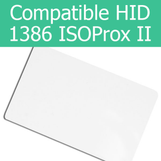 HID Compatible ISOProx II 1386 Thin 125kHz Access Card