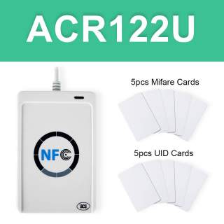 ACR122U USB NFC RFID Card Reader Writer
