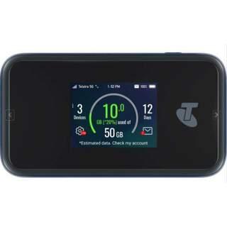 Telstra 5G Wi-Fi Pro MU500 Router with Gigabit LAN port (Unlocked) Mobile Broadband Hotspot (MDTMU500)