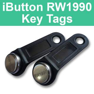 RW1990 Writable Tags for iButton TM Dallas Maxim 1-Wire DS1990A-F5