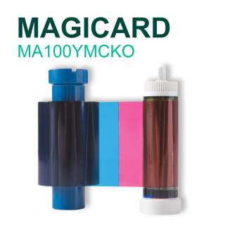 Magicard MA100YMCKO 100 Print Colour Ribbon for Pronto Enduro Rio