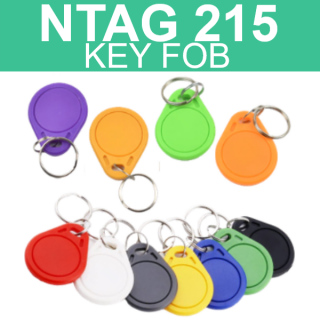 NTAG215 NFC Thin Key Tag Fob