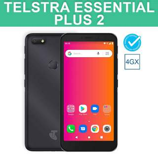 Telstra Essential Plus 2 Black 4G 4GX 16GB Android Blue Tick Mobile Phone