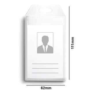 Proximity Card Holder - Vinyl Portrait Vertical