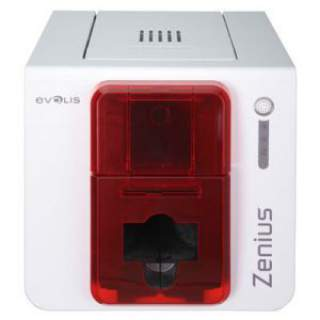 Evolis Zenius Classic Single Sided ID Card Printer (USB Interface) - Complete Starter Package