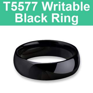 T5577 125KHz Writable Black Ring