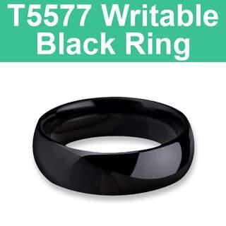 T5577 125KHz Writable Black Ring