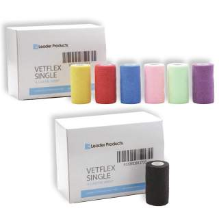 Leader Vetflex Bandage Wrap - 12 Pack