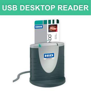 HID® OMNIKEY® 3121 USB Contact Desktop Reader