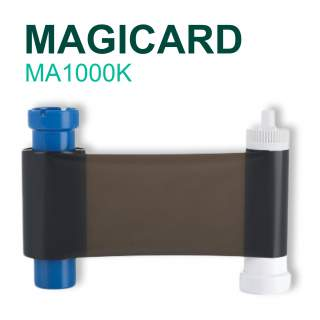 Magicard MA1000K 1000 Print Black Ribbon for Pronto Enduro MC Rio