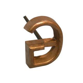 "Bainbridge Single Letter Freeze Branding Iron Cow Horse 1"" 1.5"" 2"" 2.5"" 3"""
