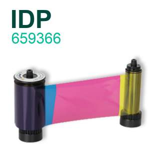 IDP Smart 659366 YMCKO 250 Print Colour Ribbon for Smart 31s and Smart 51s Printer