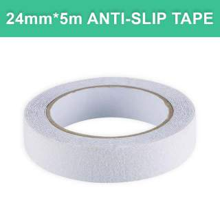 Anti-Slip Floor Stair Tread White Tape - 24mm width