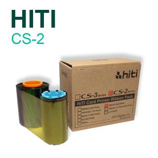 HiTi CS2 Series YMCKO 400 Print Colour Ribbon for CS-200e