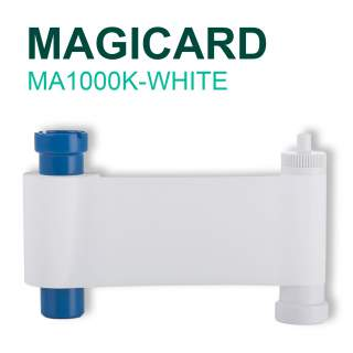 Magicard MA1000K-WHITE 1000 Print White Ribbon for Pronto Enduro MC200 Rio Pro