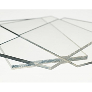 Clear Polycarbonate Sheet Panel - Cut To Custom Size - 1.5mm 2mm 3mm 4.5mm 6mm 9.5mm