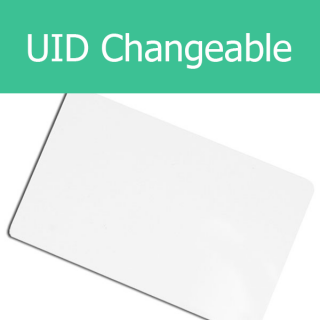 UID Changeable M1 S50 Block 0 Writable CUID FUID GEN1 GEN2 Card