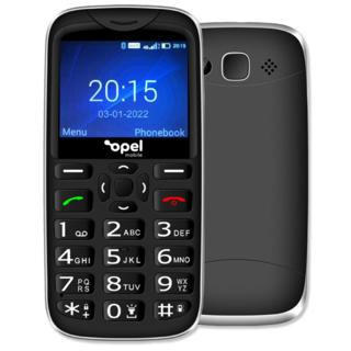 Opel Mobile Big Button X 4G Mobile Big Button Black Seniors Mobile Phone