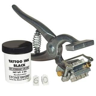"Stone Revolving Head Plier Kit 3/8"""