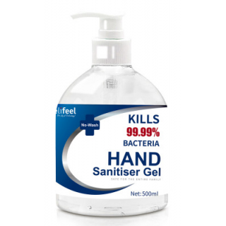 Relifeel Instant Hand Sanitiser Sanitizer 500ml with Pump