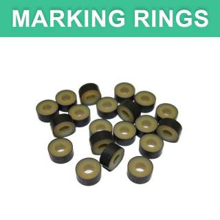 Bainbridge LG Bander Bands Large Jumbo Marking Applicator Rings - 25 Pack