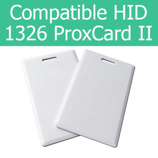 HID Compatible ProxCard II 1326 Clamshell Thick Access Card