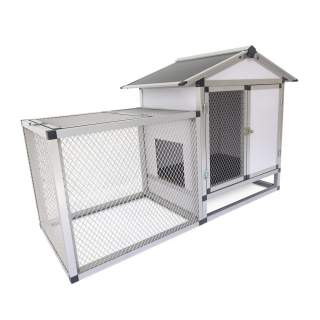 Bainbridge Rabbit Hutch - Aluminium Frame and Wire Mesh