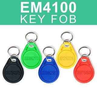 EM4100 Proximity Key Tag Fob - EM Fob