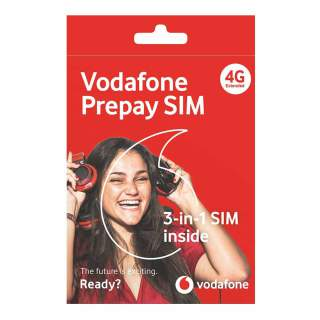 Vodafone New Zealand Prepaid Sim Card Starter Kit Pack