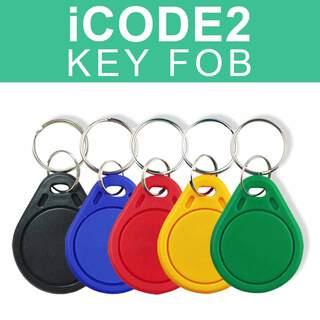 ISO 15693 13.56Mhz ICode 2 ISO15693 RFID ICODE2 Thin Key Tag Fob
