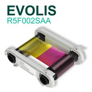 Evolis R5F002SAA YMCKO 200 Print Colour Ribbon for Zenius Primacy