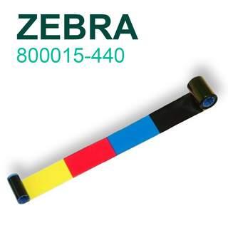 Zebra 800015-440 YMCKO 200 Prints Colour Ribbon for P310i P420i P520i