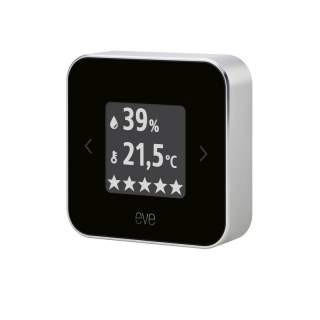 Eve Room 10EAM9901 Smart Home Indoor Air Quality Monitor Apple Homekit Enabled
