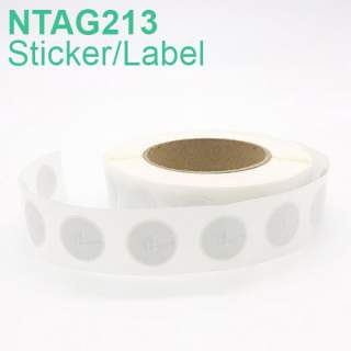 NTAG213 NFC Round Sticker Label