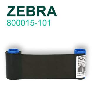 Zebra 800015-101 1000 Prints Black Resin Ribbon for P310i P420i P520i