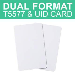 Dual Format Frequency T5577 & UID CUID Block 0 Changeable Card