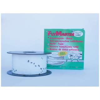 Fly Master Fly Catcher Sticky Roll Deluxe Fly Tape System - 400 Metre Roll Refill