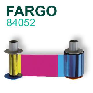 Fargo 84052 YMCKK 500 Print Colour Ribbon for HDP5000 HDPii