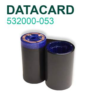 Datacard 532000-053 1500 Print Black Ribbon for SP35 SP55 SP75 SD260 SD360