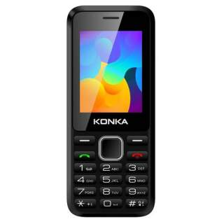 Konka FP8 3G Black Push Button Mobile Phone