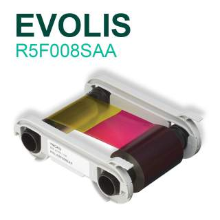 Evolis R5F008SAA YMCKO 300 Print Colour Ribbon for Primacy