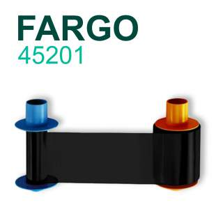 Fargo 45201 Premium Black 3000 Print Ribbon for DTC4500e DTC4500 045201