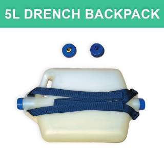 Aussie 2 Cap Plastic Drench 5L Backpack