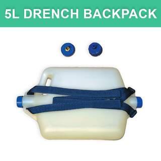 Aussie 2 Cap Plastic Drench 5L Backpack