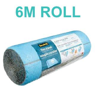 3M Scotch Flex & Seal Shipping Roll Bubble Wrap FS-1520 380mm x 6.09m