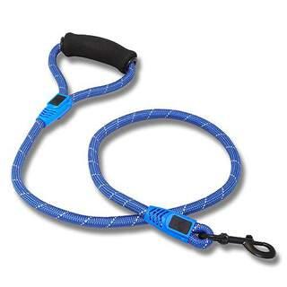 Bainbridge Reflective Rope Leash with Foam Handle