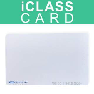 HID iCLASS 13.56 MHz Pre-Programmed Card